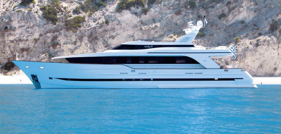 New arrival at Sea Independent, Motor Yacht Bugari 29m.