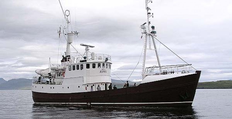 New arrival at Sea Independent, Expedition Vessel ``Arctic Janus``